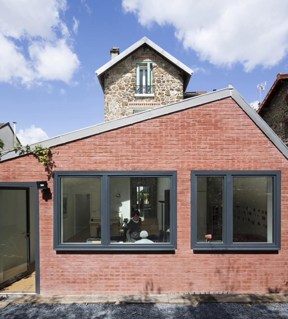 Extension de maison vanves par agn s agn s architecture for Extension de maison