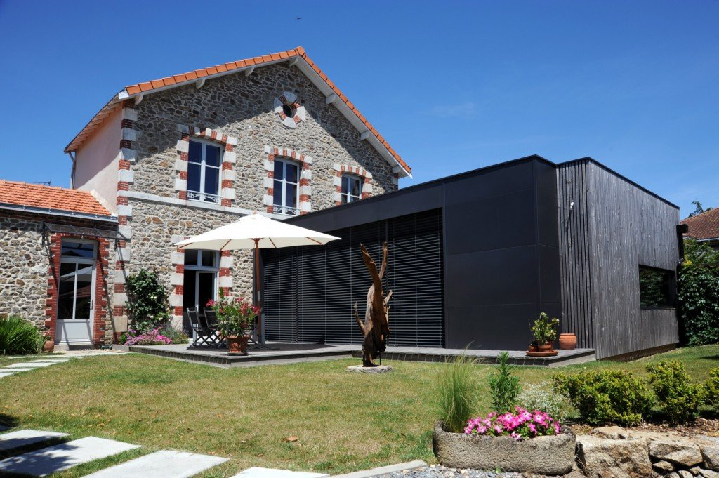 Extension Et R Novation D 39 Une Maison Clisson Par Atelier 14