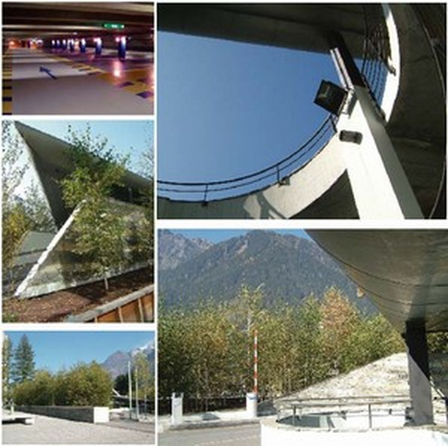 Parking de chamonix par atelier dujol architecture for De atelier architects