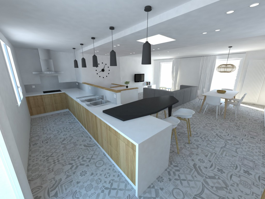R am nagement d 39 une maison par fabien junique la fable for 3d cuisine bessines 79
